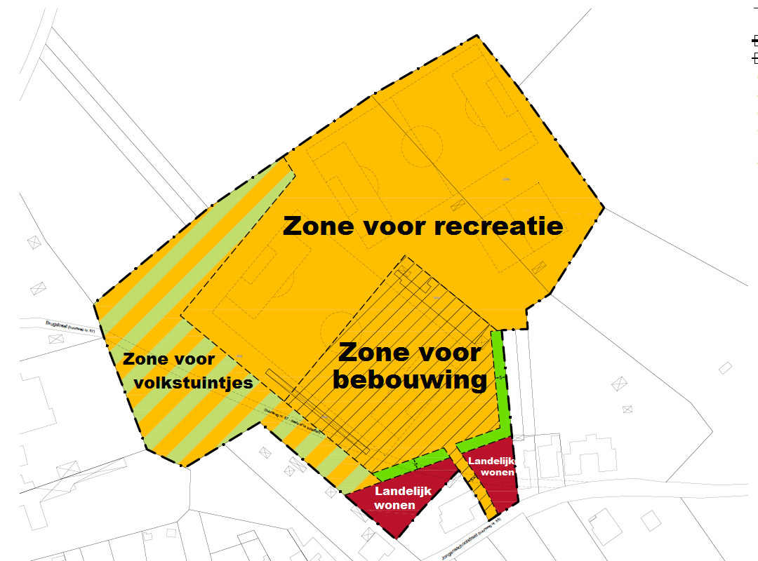 RUP Jongensschoolstraat Zones